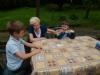 Gry towarzyskie w Domu Dziennego Pobytu - spotkanie z dziećmi ze Szkoły Podstawowej SKAŁA