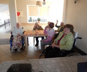 Karaoke i kolędowanie Mieszkańców Domu Pomocy Społecznej MBNP