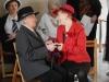 Panie z Klubu Seniora ze Złotych Łanów z programem artystycznym w Domu Pomocy Społecznej MBNP