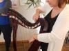 Pokaz gry na harfie w DPS