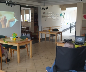 Spotkanie multimedialne w Domu Pomocy Społecznej MBNP