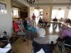 Spotkanie muzyczno-taneczne z Klubem Seniora ze Złotych Łanów w Domu Pomocy Społecznej MBNP