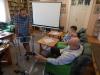 Spotkanie seniorów z fizjoteraupeutą w Domu Dziennego Pobytu