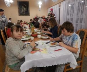 Spotkanie Wigilijne dzieci ze Świetlicy Dzieciątka Jezus