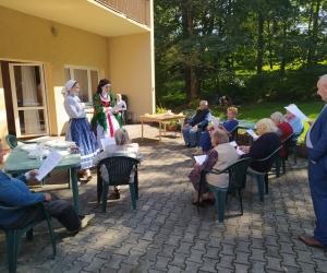 Spotkanie z zespołem Magurzanie w Domu Dziennego Pobytu
