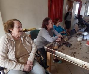 Środowe, multimedialne spotkanie z Seniorami Domu Pomocy Społecznej