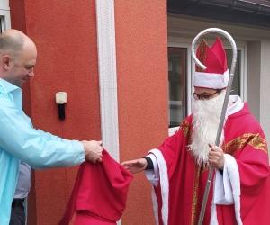 Święty Mikołaj z wizytą u mieszkańców Domu Pomocy Społecznej MBNP