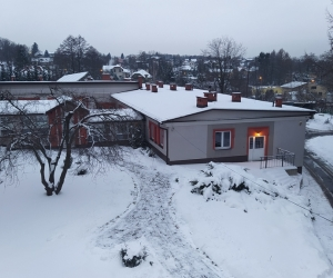 Zimowa aura w KDO Józefów